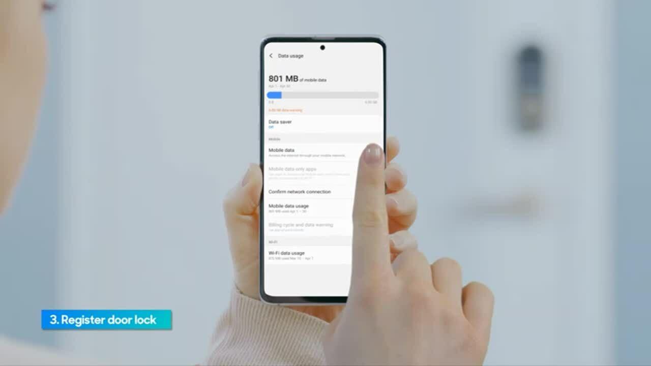 A30 Smart doorlock app guide 3rd version