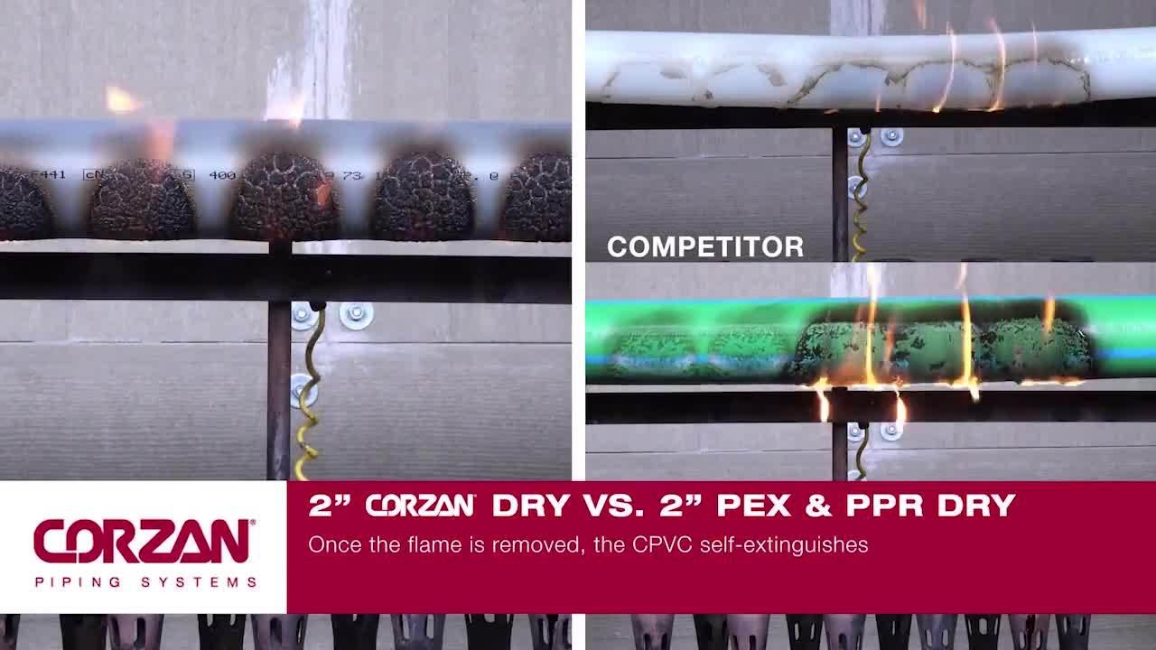 Corzan CPVC Burn Test-1