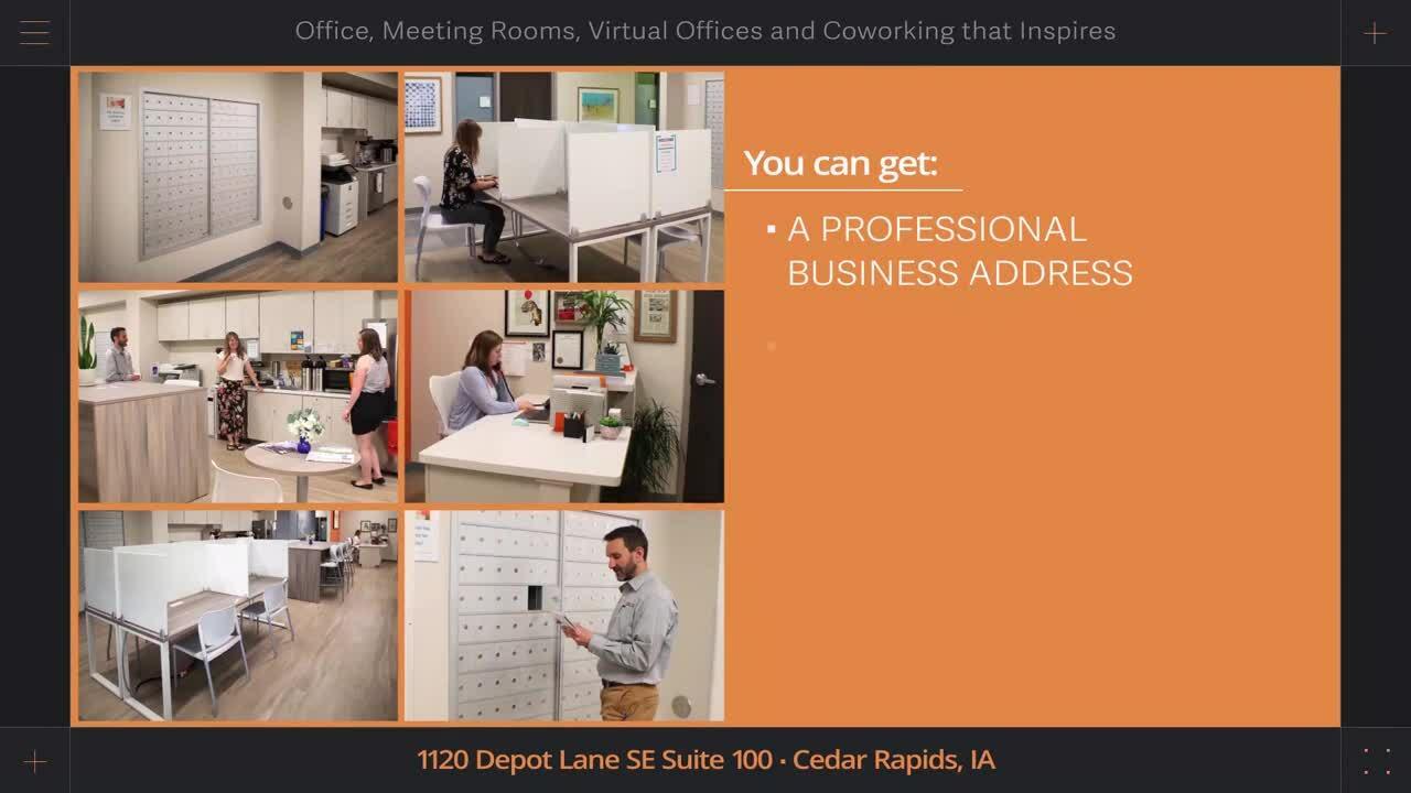 Virtual Office Options in Cedar Rapids at Office Evolution