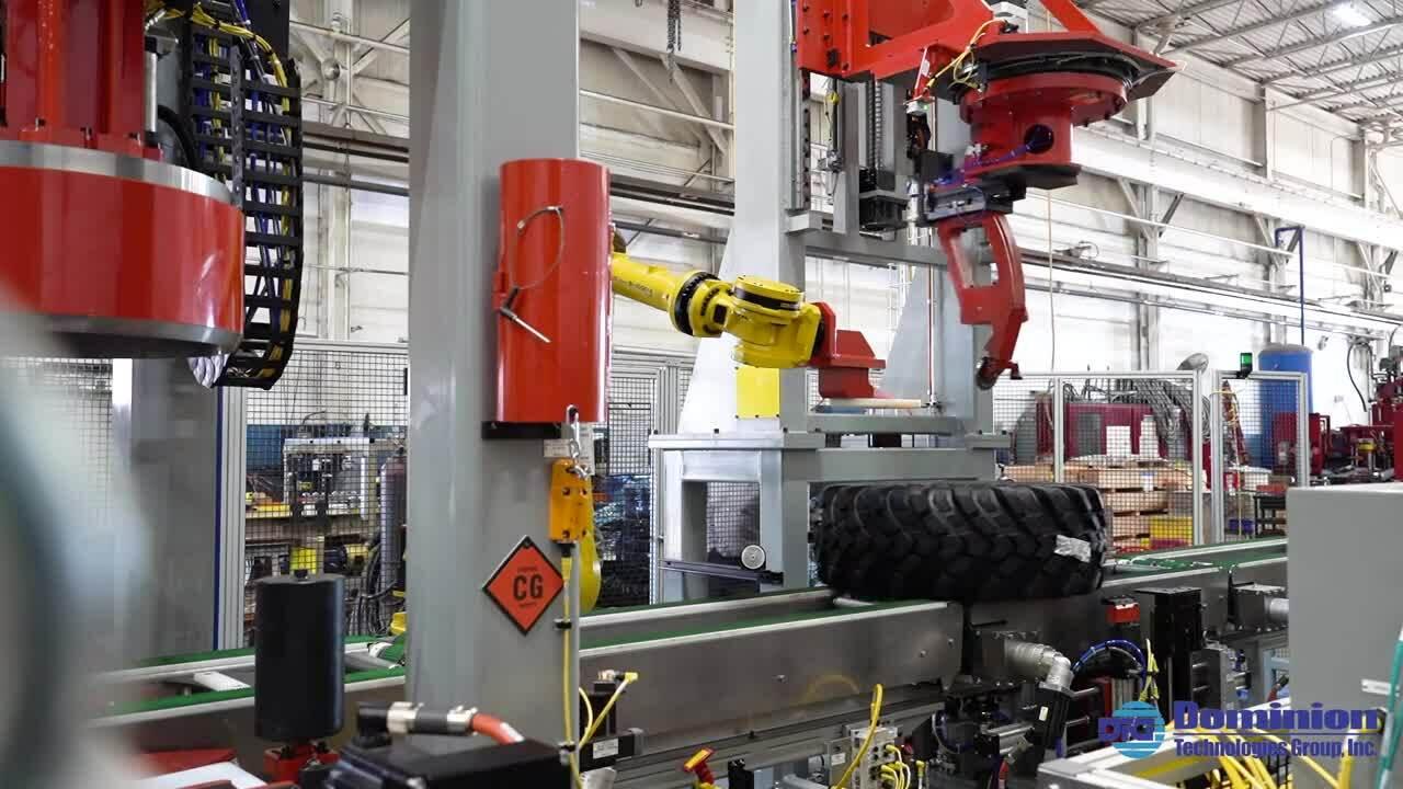 HD Belt Conveyor for Tires