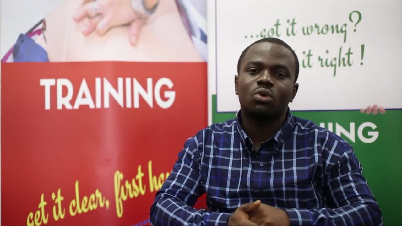 IANS- From Ghana to the UK. - Foster Amankona's Nursing Story
