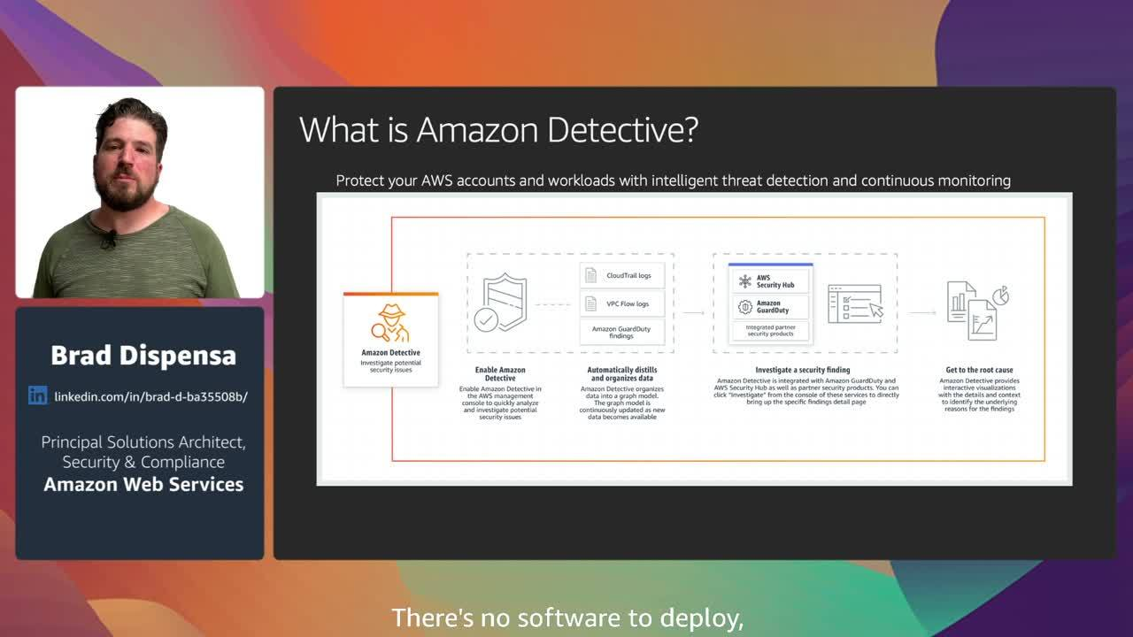 Using AWS security services to achieve advanced threat detection