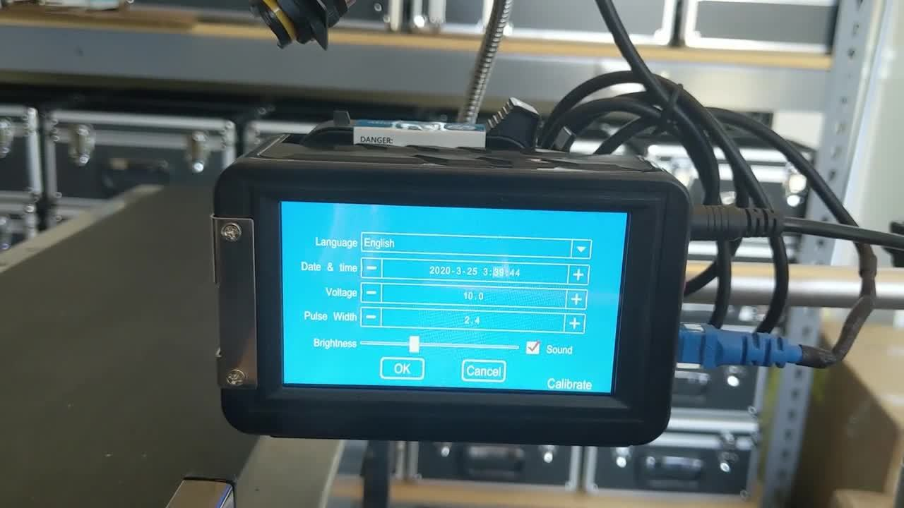 Meenjet M6 Automatic - System Settings Screen