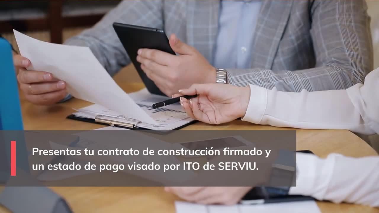 Qué es el financiamiento SERVIU sector de Construcción