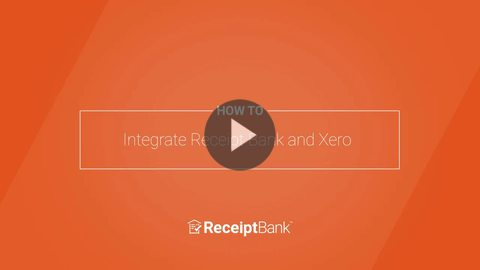 How to: Integrate Receipt Bank and Xero