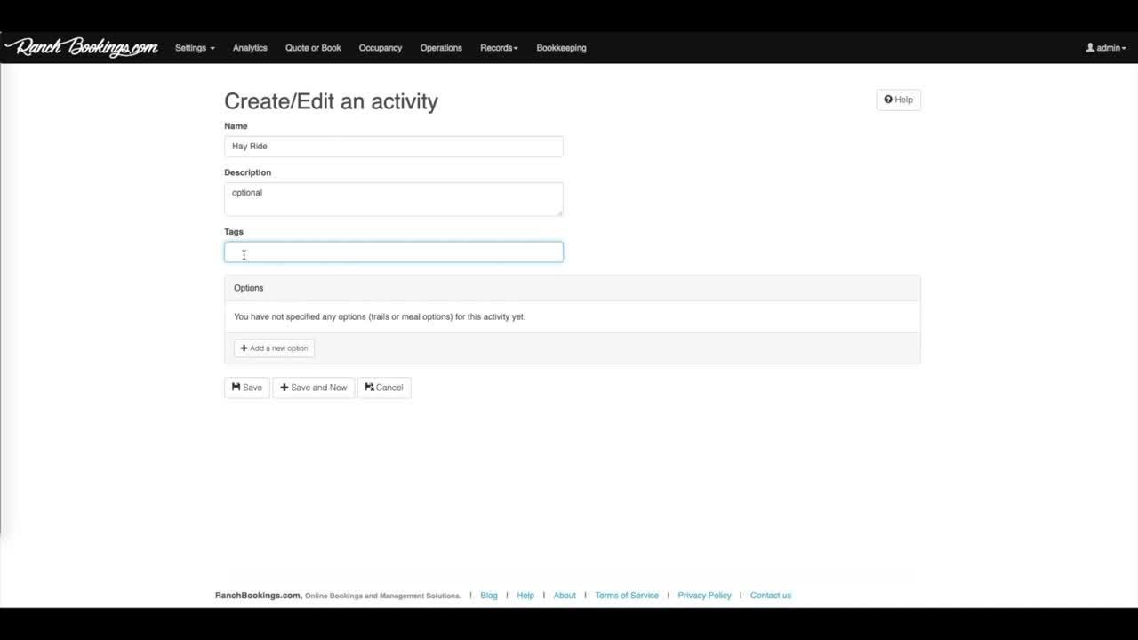 Activities - BE
