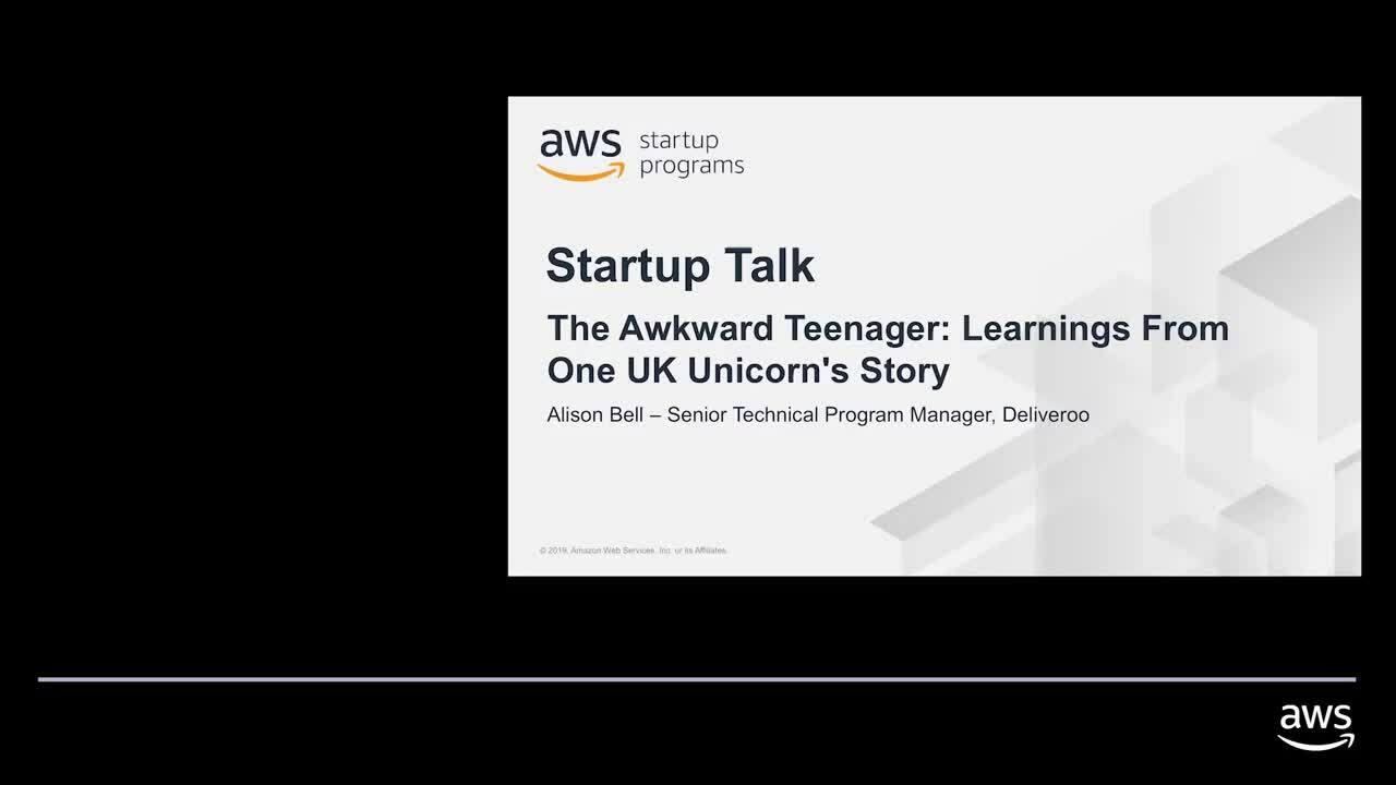 The Awkward Teenager: Learnings From One Uk Unicorn's Story