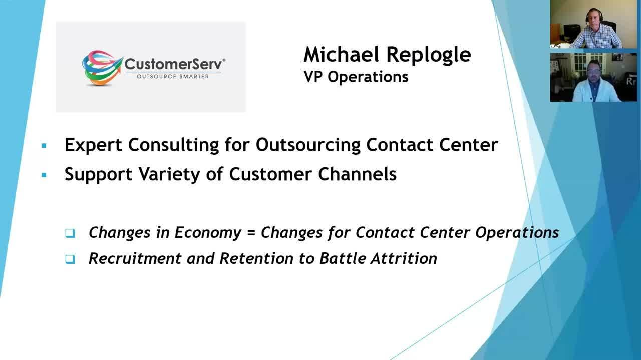CustomerServ interview Michael Replogle 012320