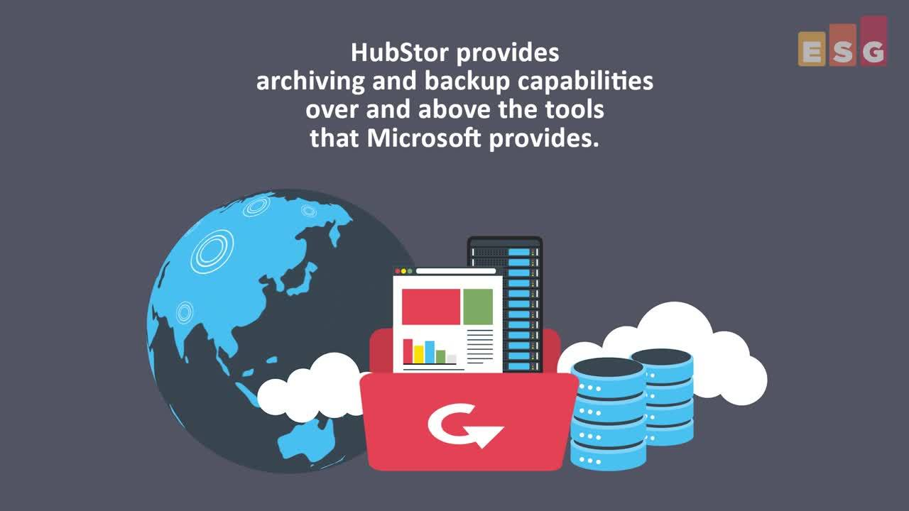 ESG Brief - Cloud Data Management with HubStor
