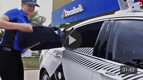 Self-Driving Vehicle B-Roll