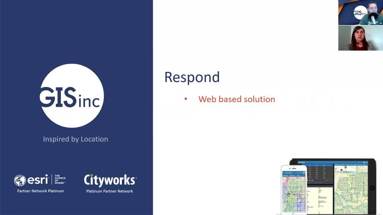 Cityworks Respond- Asset & Work Order Management Made Easy