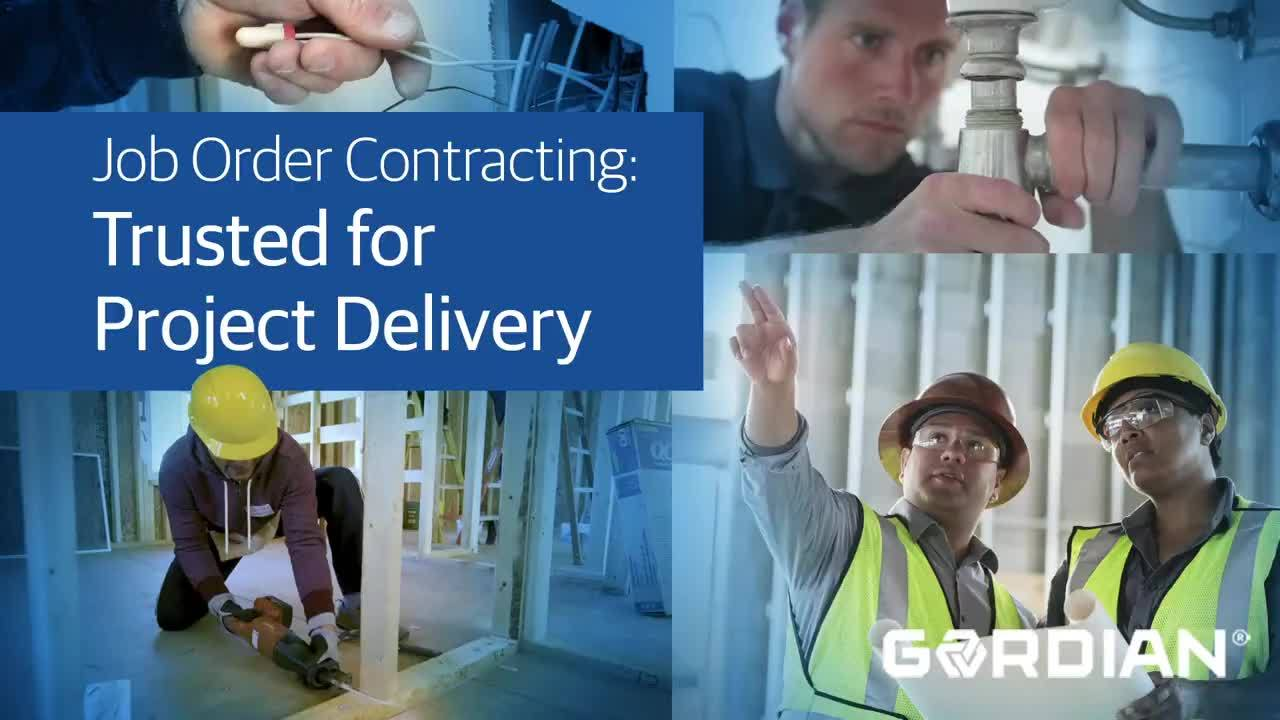 Job Order Contracting: Trusted for Project Delivery