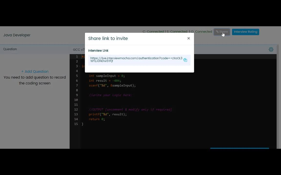 Live Coding Interview - How does the Live Coding Interview Session look like