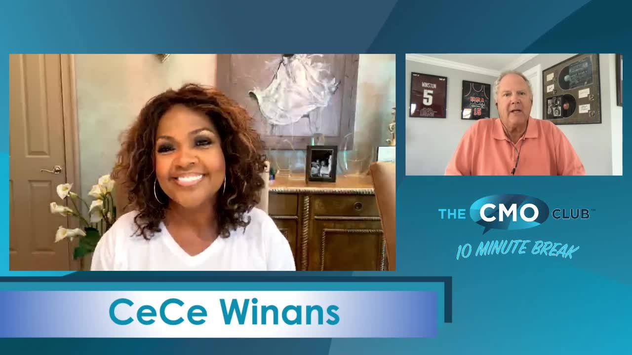 The CMO Club 10 Minute Break with CeCe Winans
