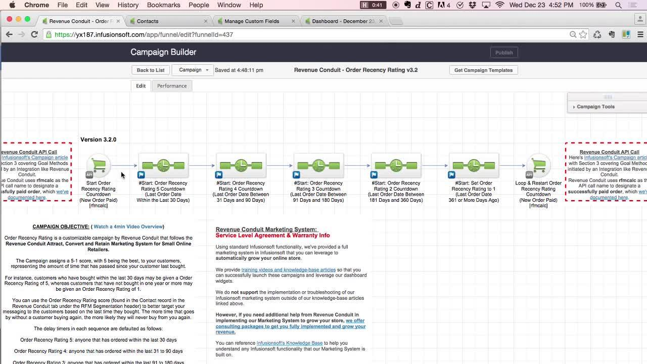 Infusionsoft Campaign_ Order Recency Rating Launch