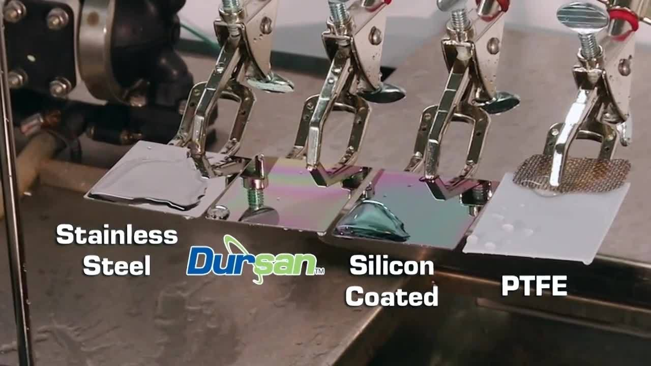 Hydrophobic Coating Demonstration - Dursan from SilcoTek