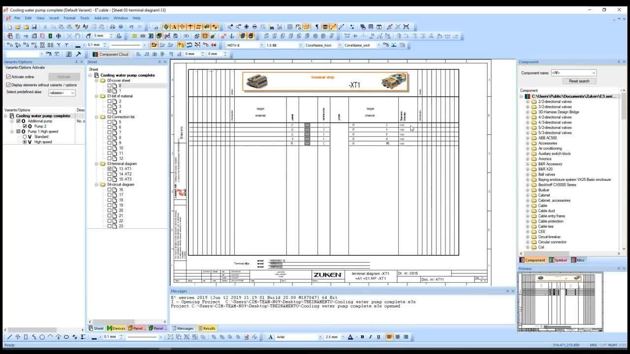 E3.schematic L1 - Contenido