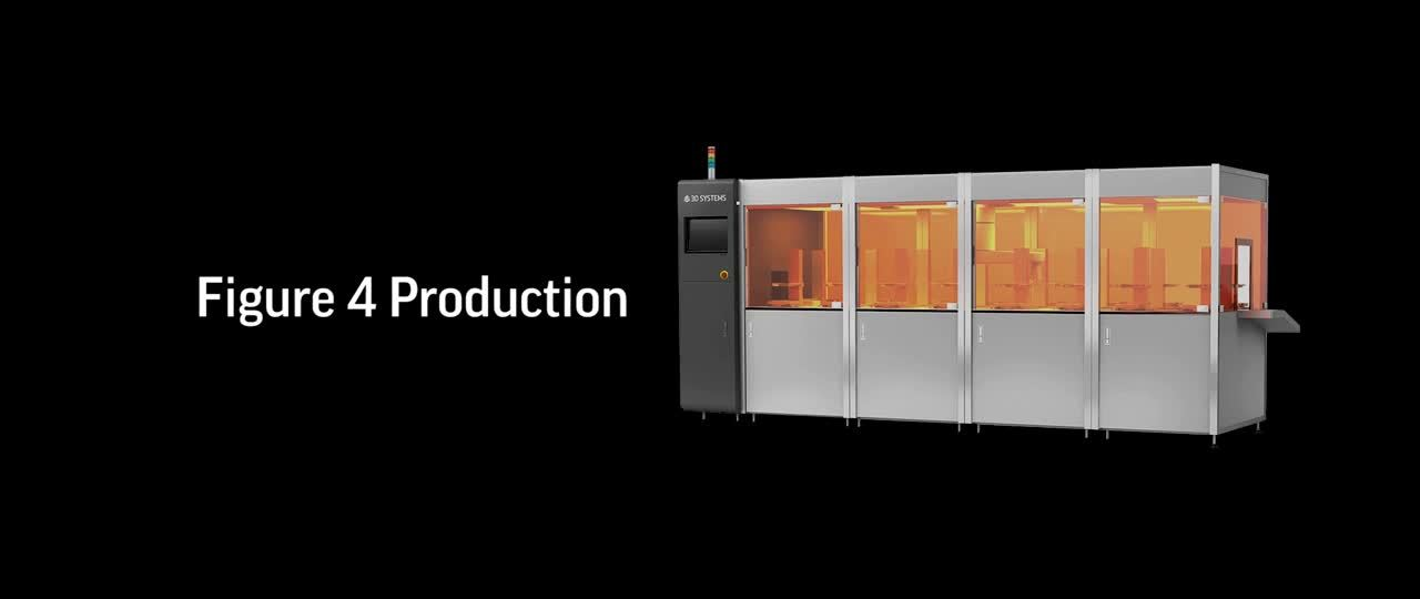 Figure 4 Production delivers world's fastest additive manufacturing throughput and time-to-part