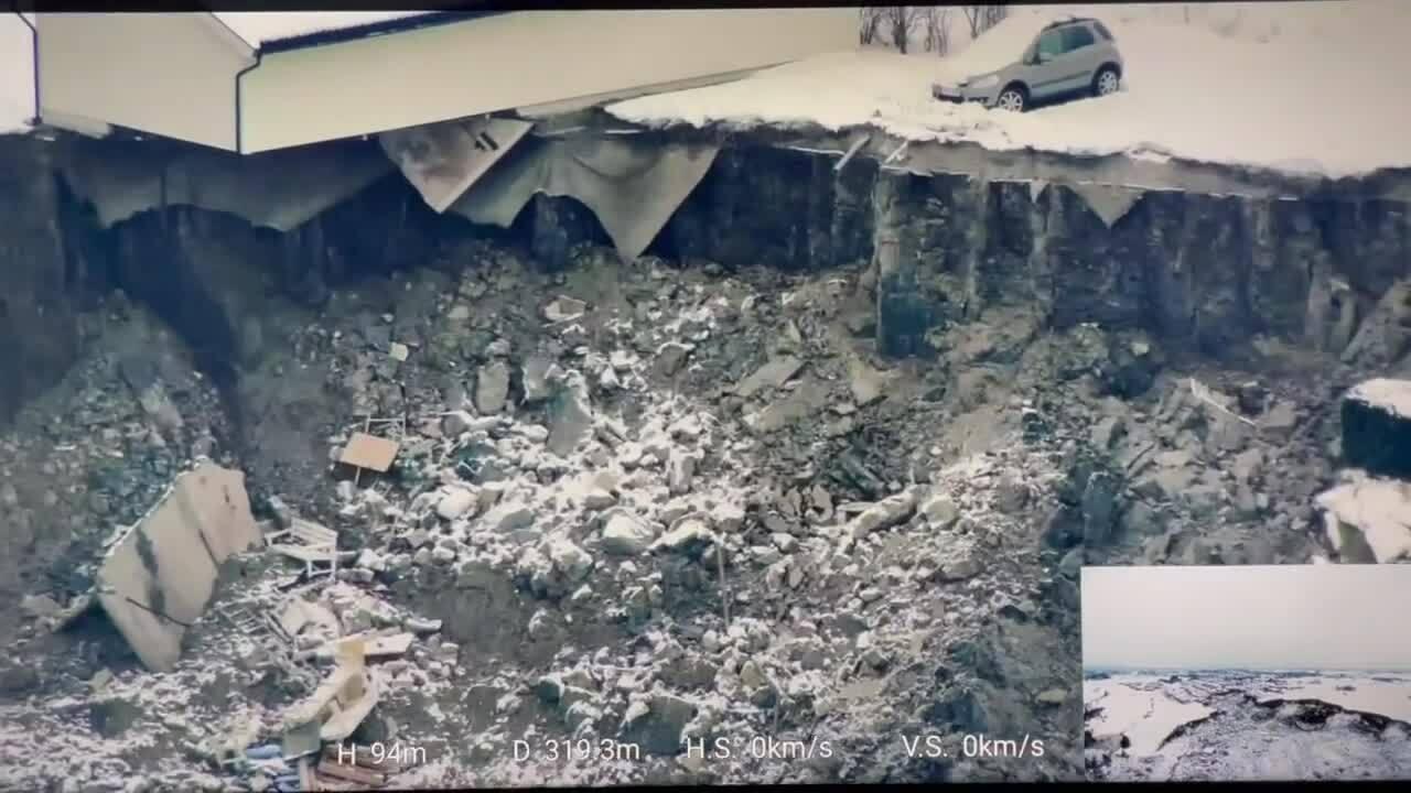 Norway Landslide Let Drones Searhc So You Can Rescue