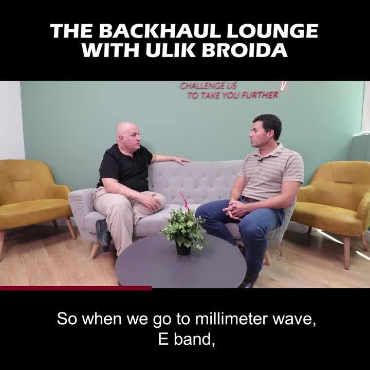 Wireless Backhaul Lounge Ulik August 13 2019