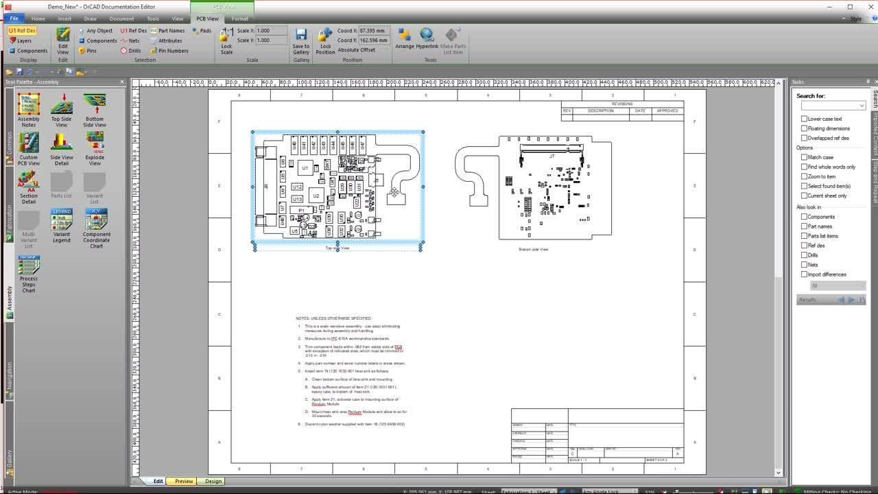 Documentation Editor - OrCAD