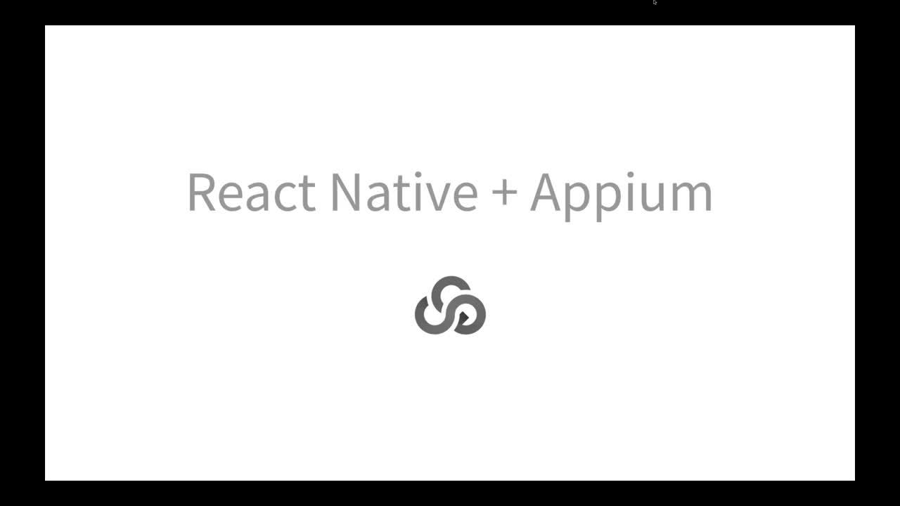 Testing React Native Apps with Appium-1