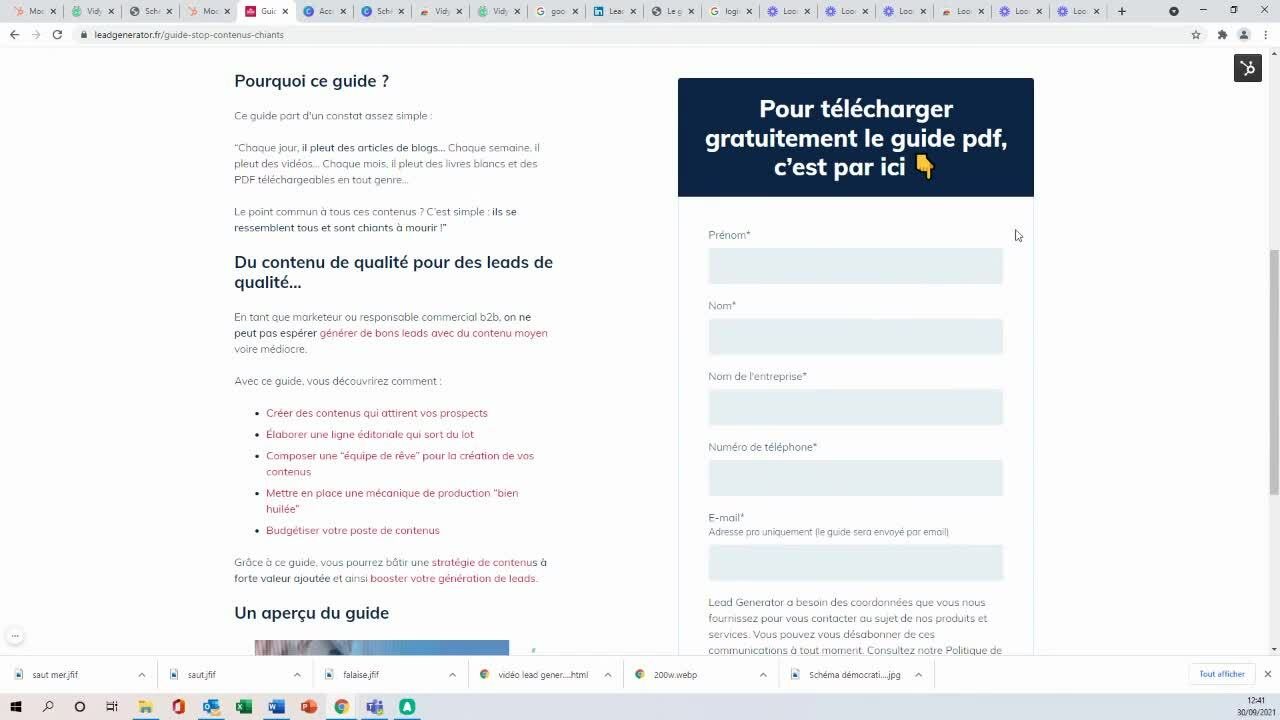 Copy of Guide - Stop aux contenus chiants