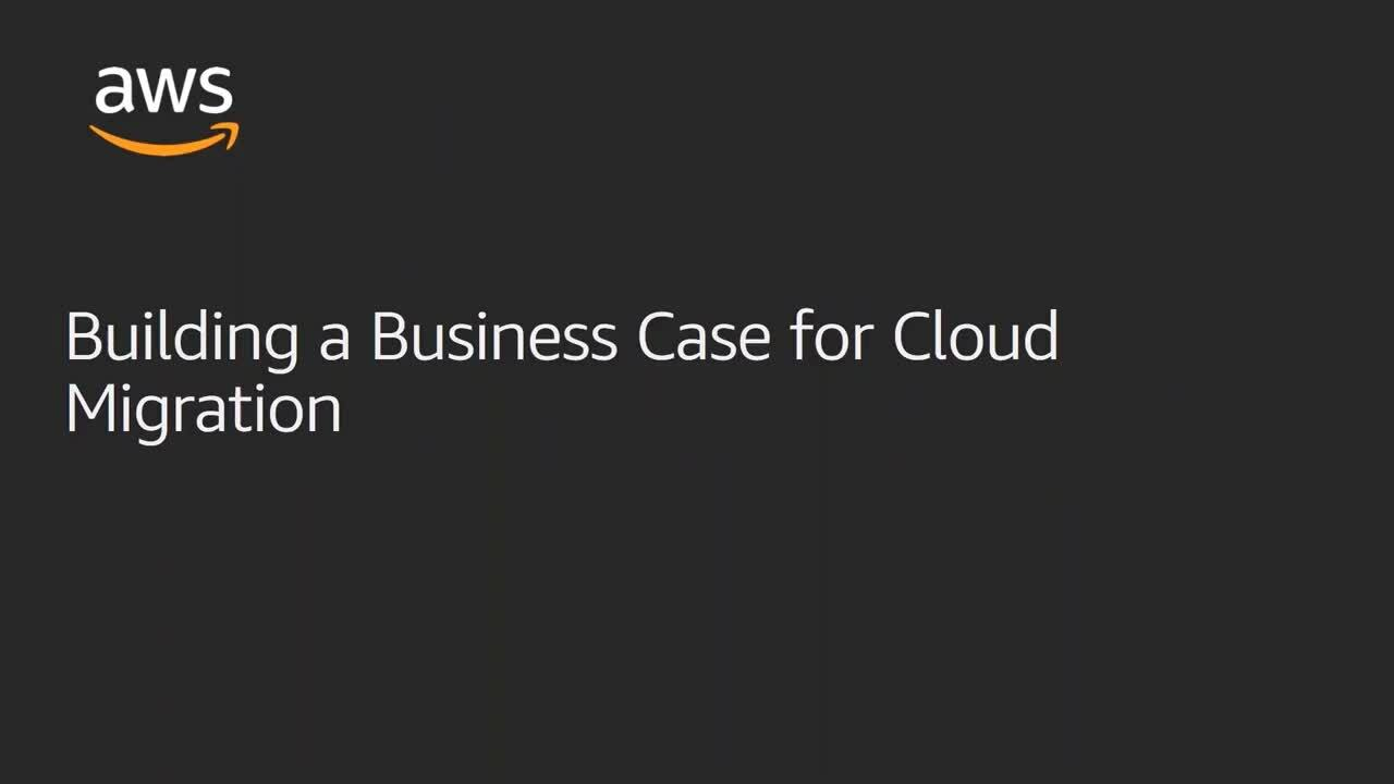 Building a Business Case for Cloud Migration
