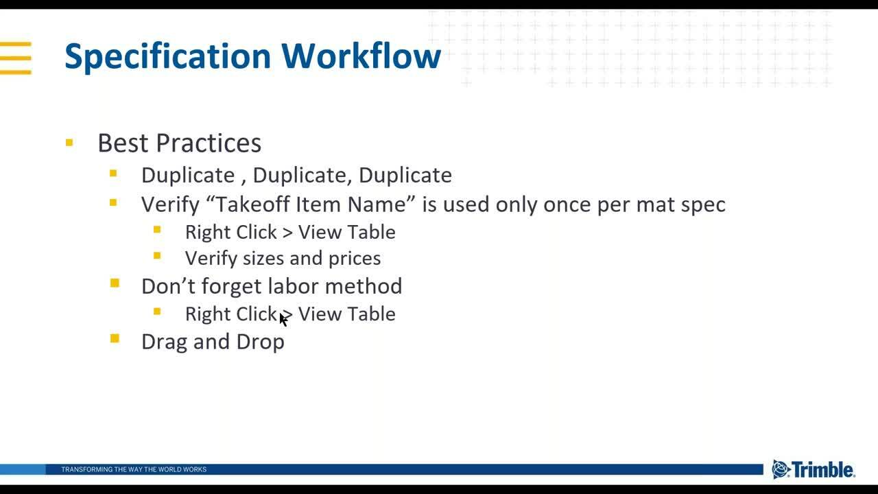 [Webinar Recording] ATE: Spec Creation Workflow in AutoBid Mechanical