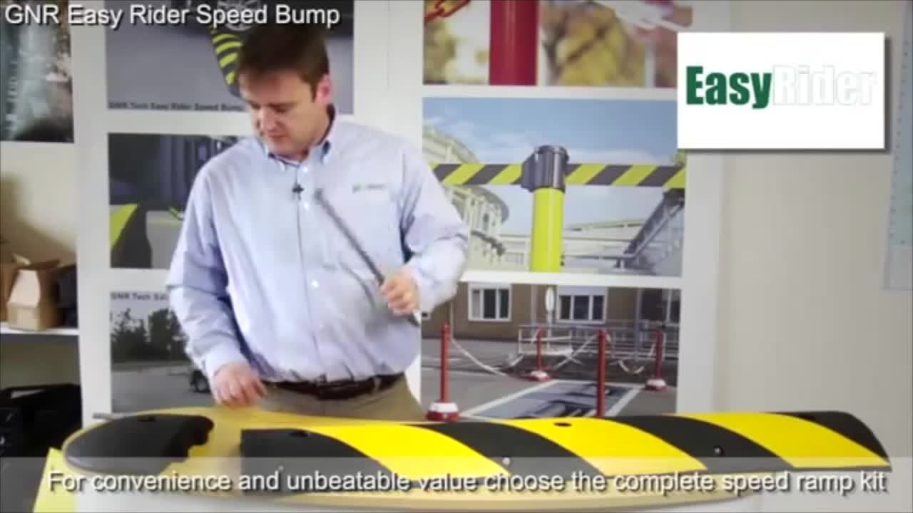 Keyline Safety Easy Rider Speed Bump Overview