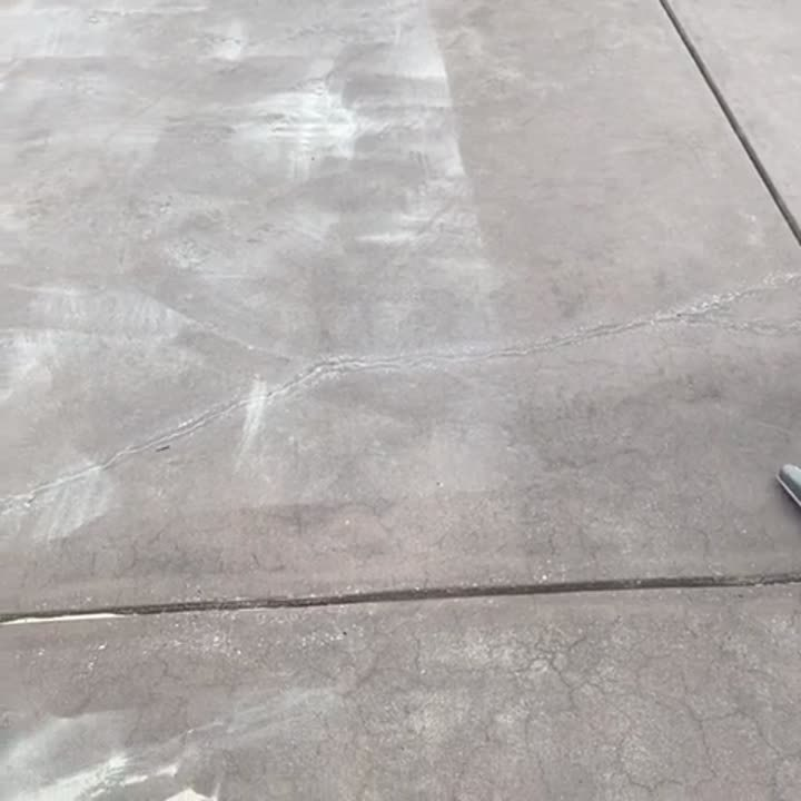 h4blasting - outdoor vacuum to clean up dry blasted concrete