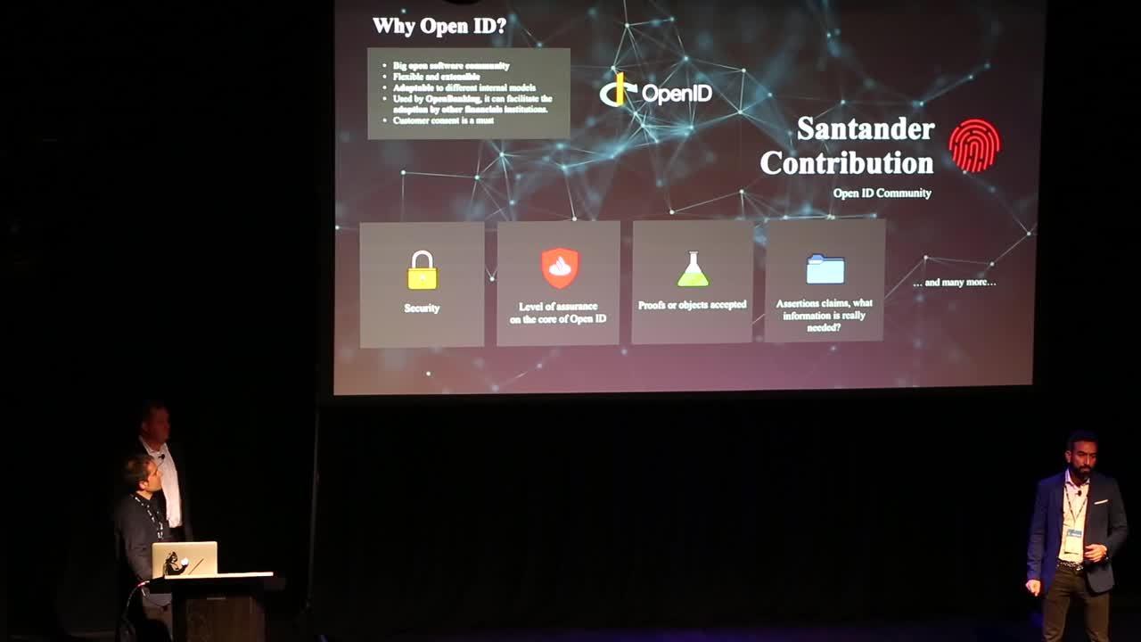 Santander - Digital Trust Breakout - FINOS OSSF 2019