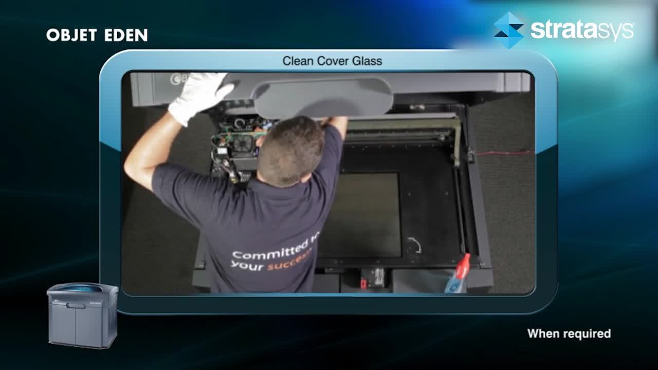 Glass Cover Cleaning - Eden