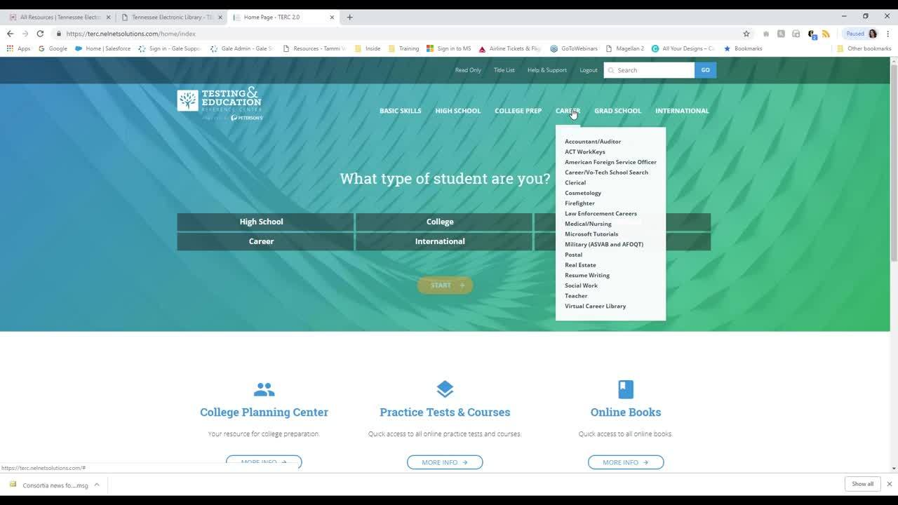 Scholarship Searches & Testing Prep with Testing and Education Reference Center from TEL Thumbnail