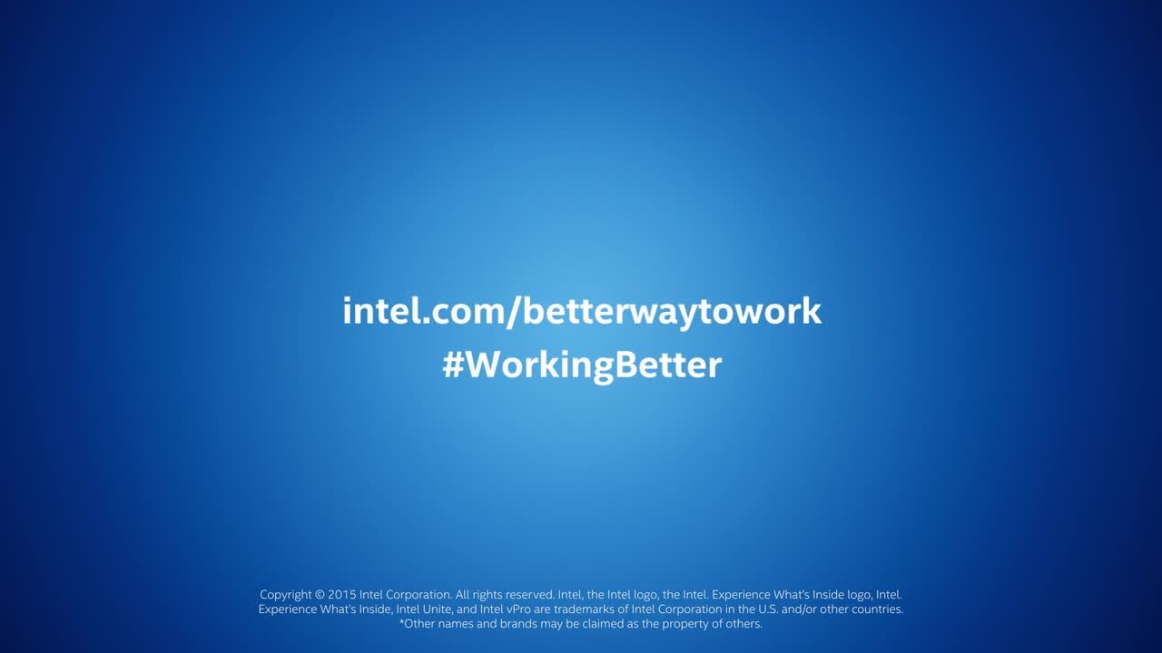Smarter Meetings Start with Intel Unite