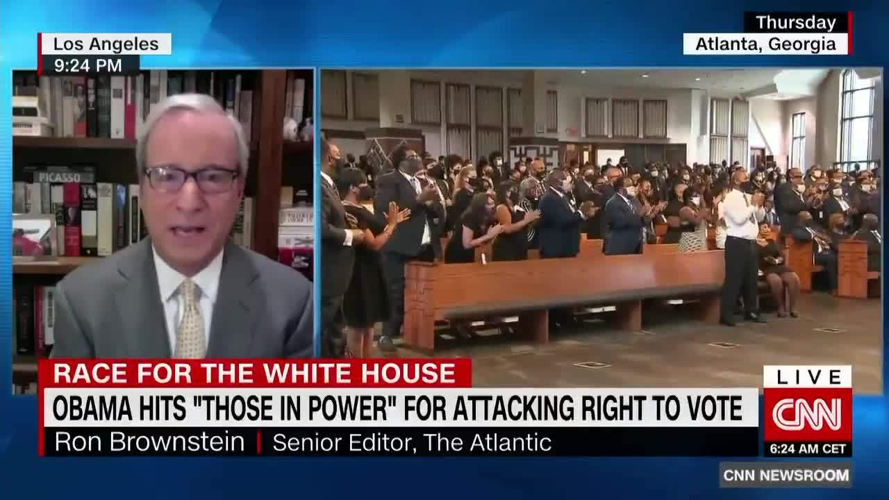 Ron Brownstein on CNN: 2020 Insights on the Race for the White House