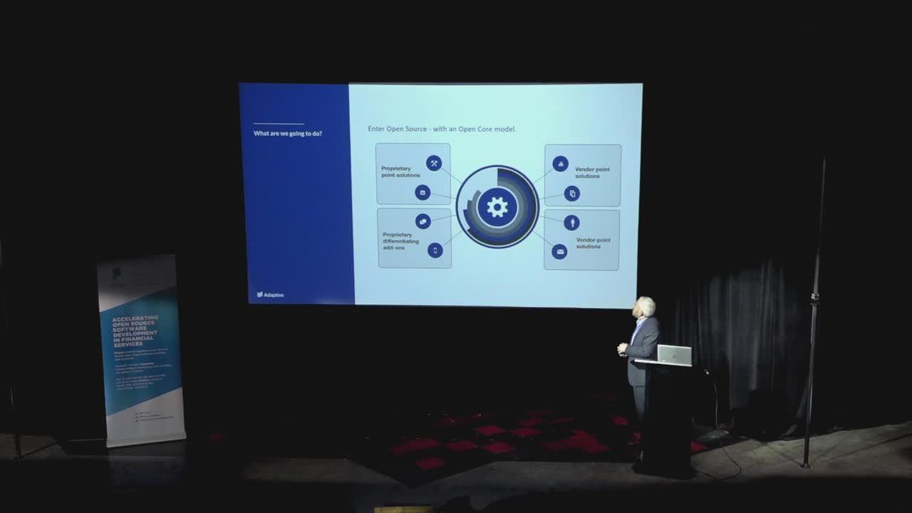 Mike Stevenson - The Next Frontier an Open Source RegTech Stack - FINOS OSSF 2019