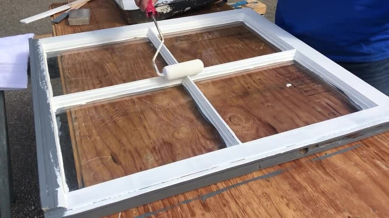DIY- Window Frames Final