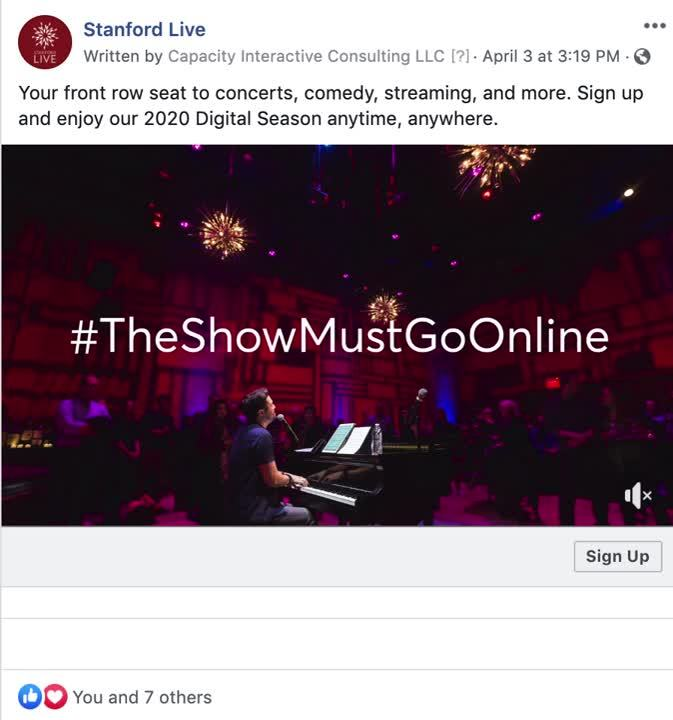SL - The Show Must Go Online Screen Recording