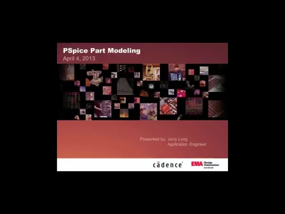 On-Demand Webinar: PSpice Modeling