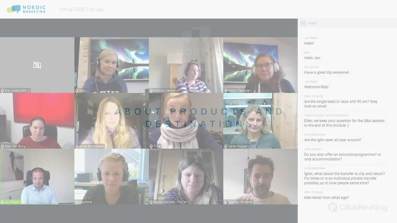 Trailer NordicMarketing Service Virtual FAM Trip