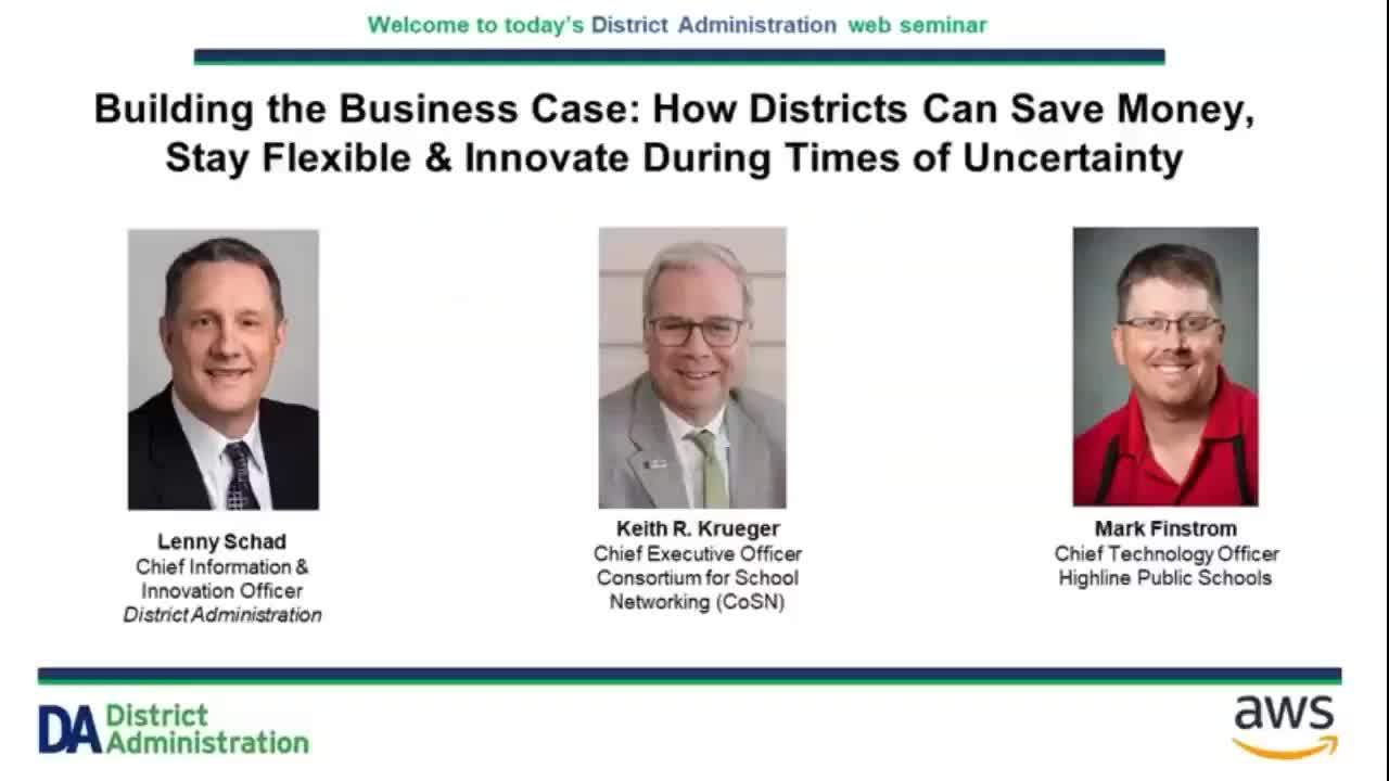How districts can save, be flexible, and innovate during times of uncertainty