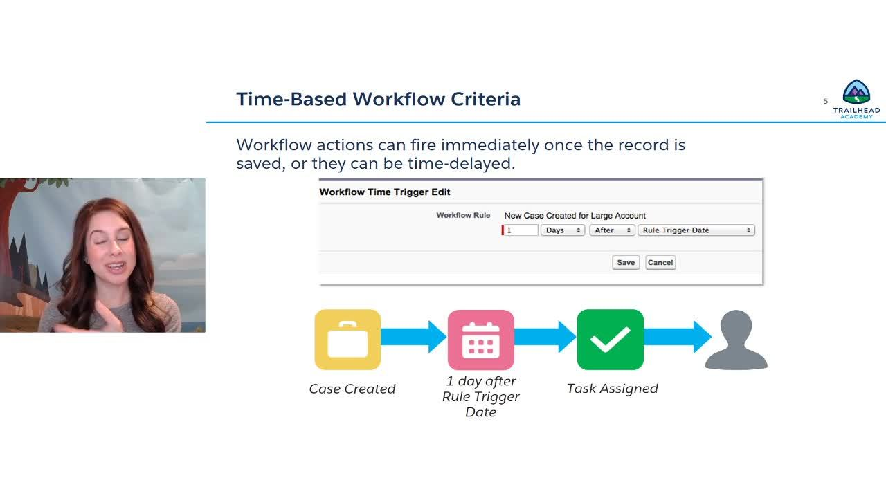 Video: Preparing for Your Admin Certification: Workflow Rules and Appproval Processes