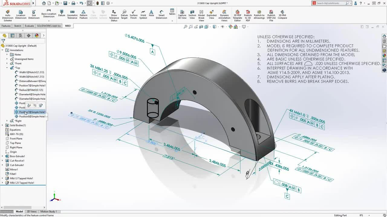 Whats New in SOLIDWORKS MBD 2020 - Annotation Folders (1)