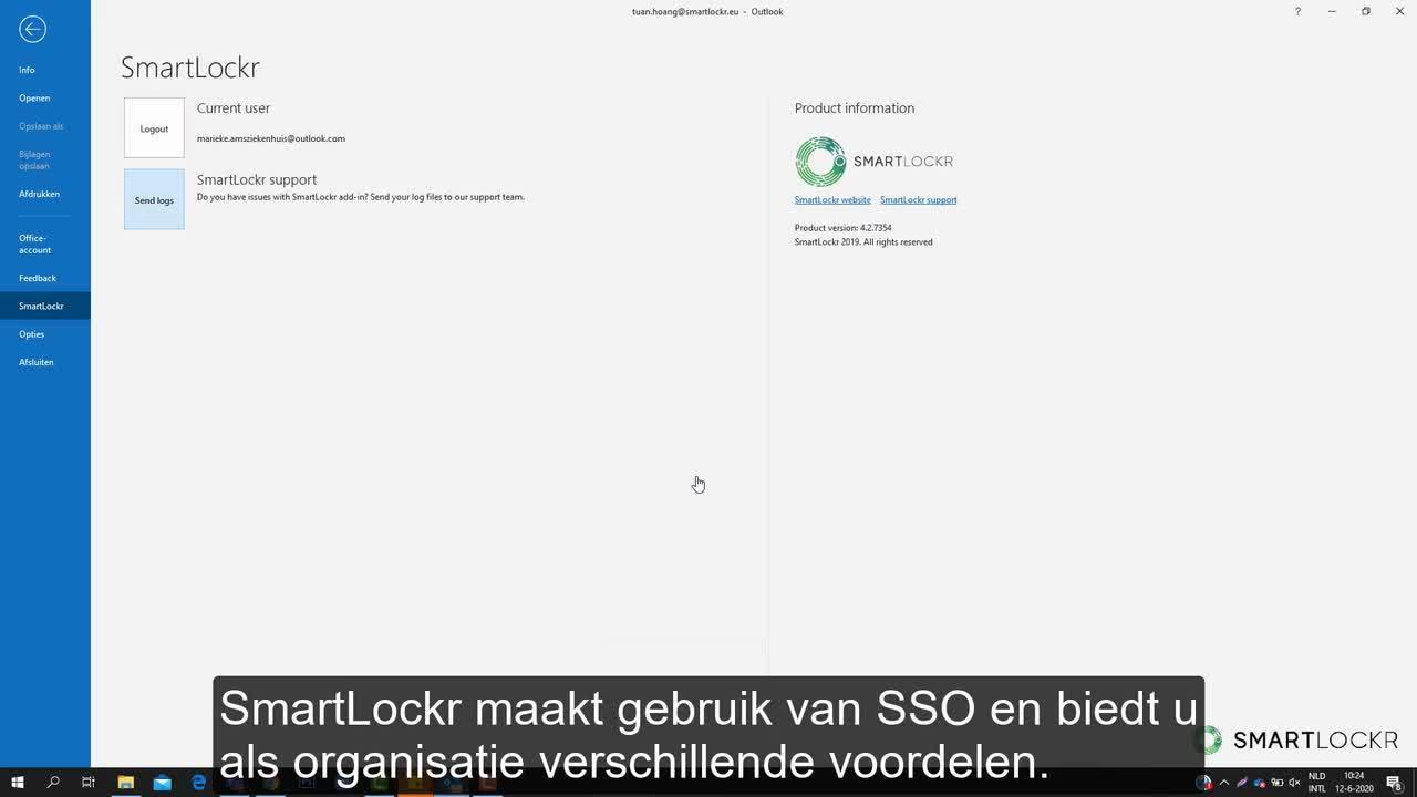 FF Single sign on NL