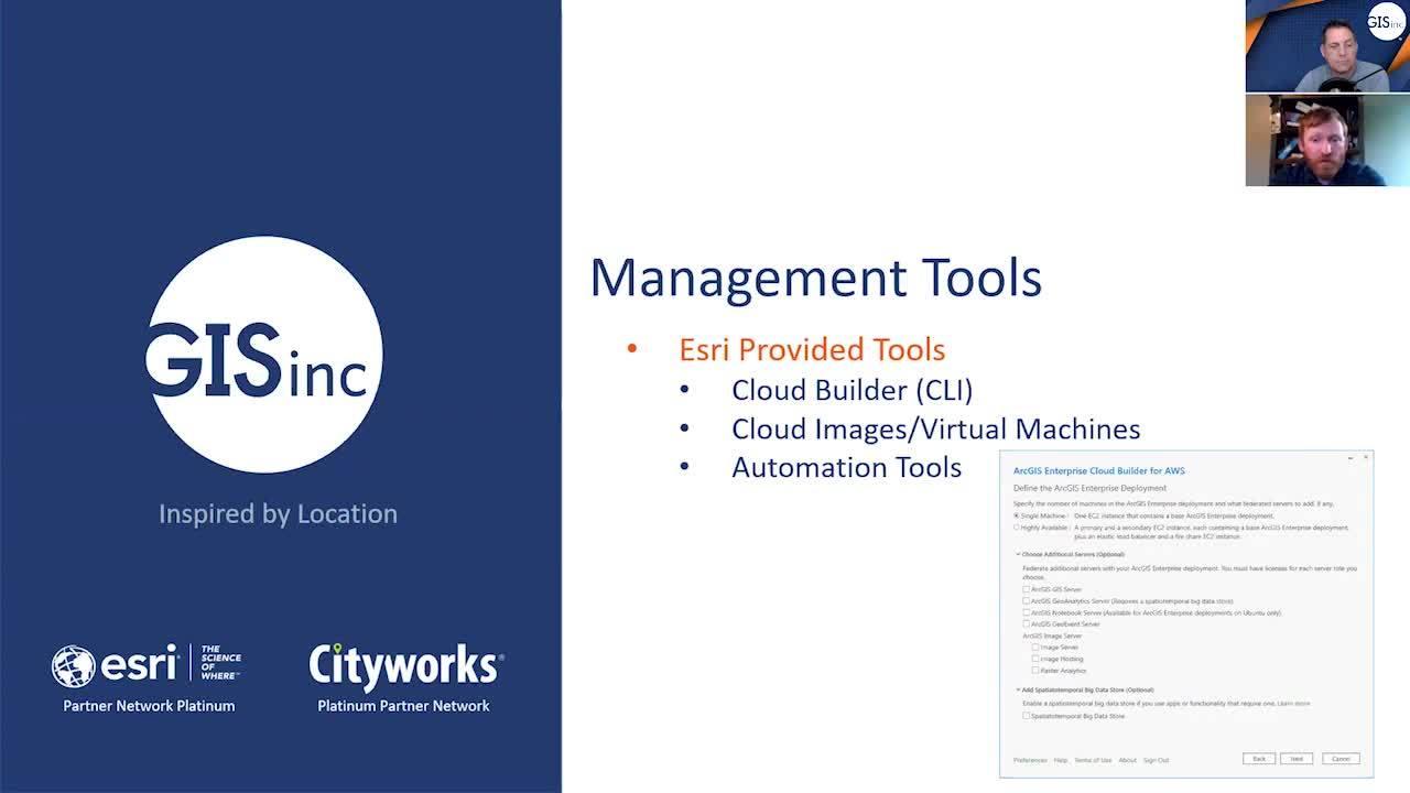 ArcGIS Enterprise - Cloud Management Strategies