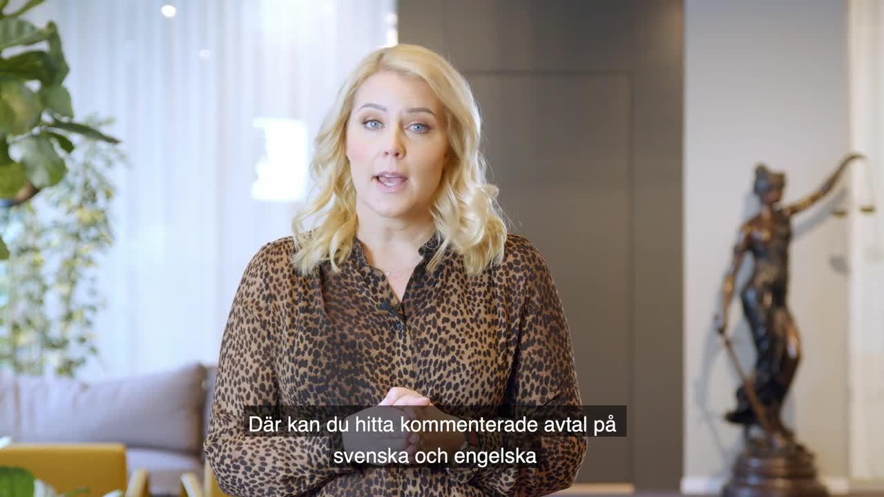 Inspelning Sara Sparring - Avtalsguiden, standardklausuler-1