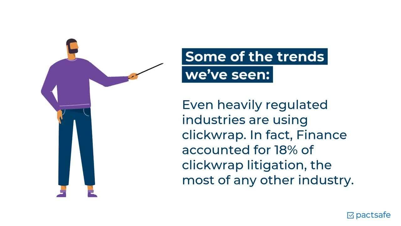Clickwrap Litigation Trends Report 2021
