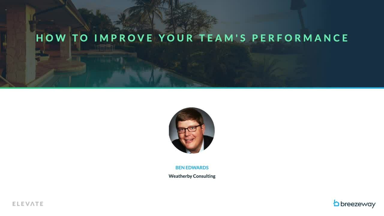 How to Improve Your Teams Performance