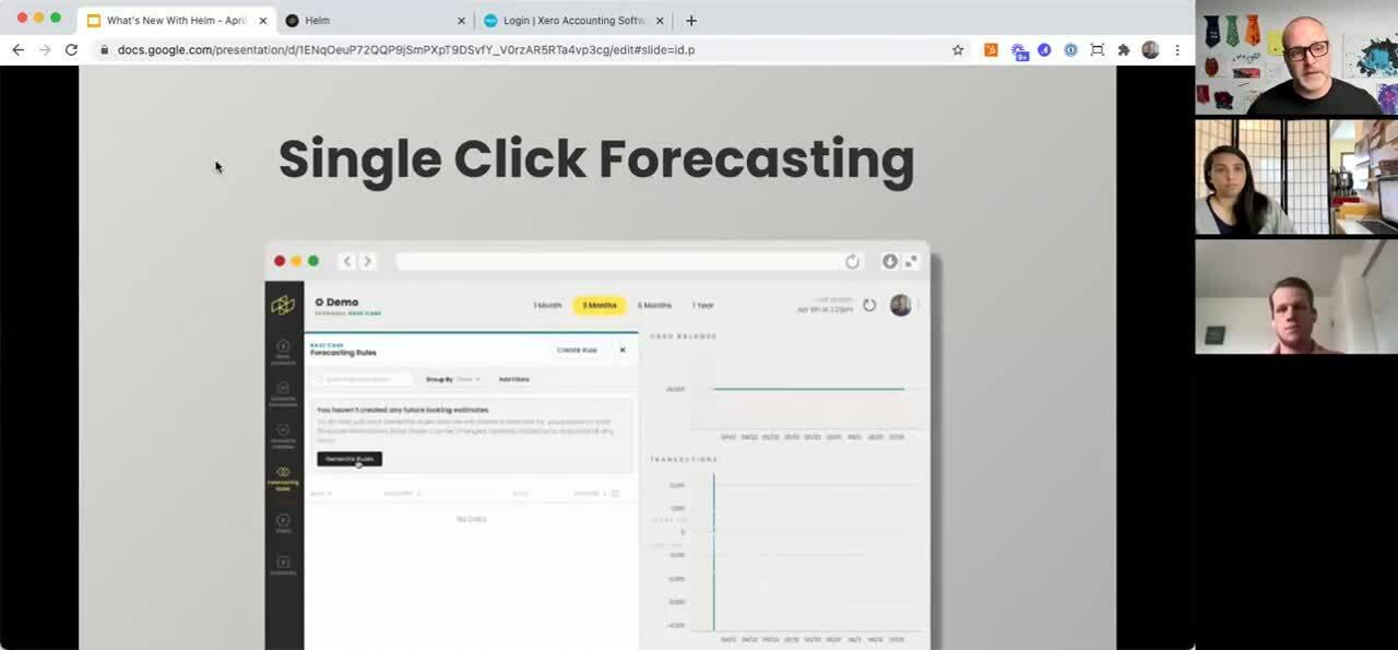 Single Click Forecasting